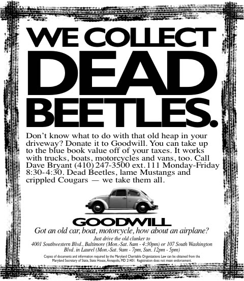 Goodwill - Dead Beetles
