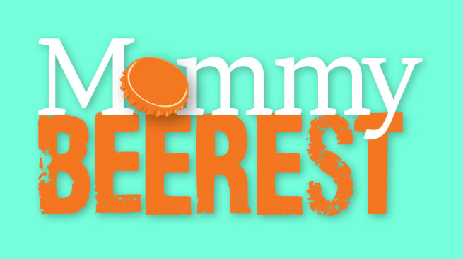 Mommy Beerest - Logo