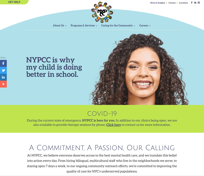 NYPCC - Website
